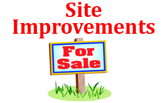 Site Improvements For Sale